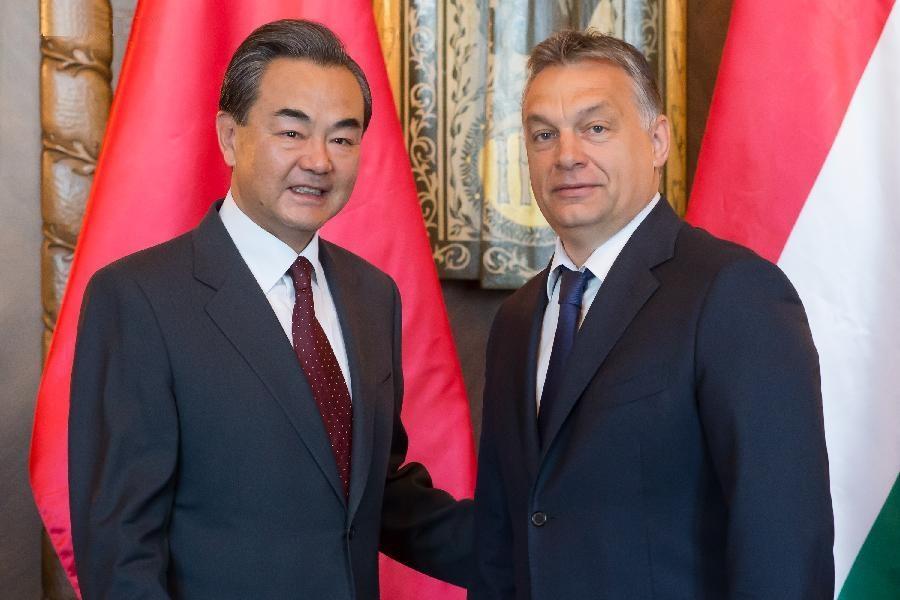 Wang Yi si Viktor Orban