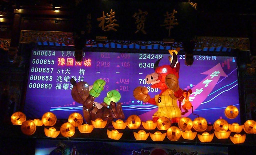 Bull market și bear market în Shanghai