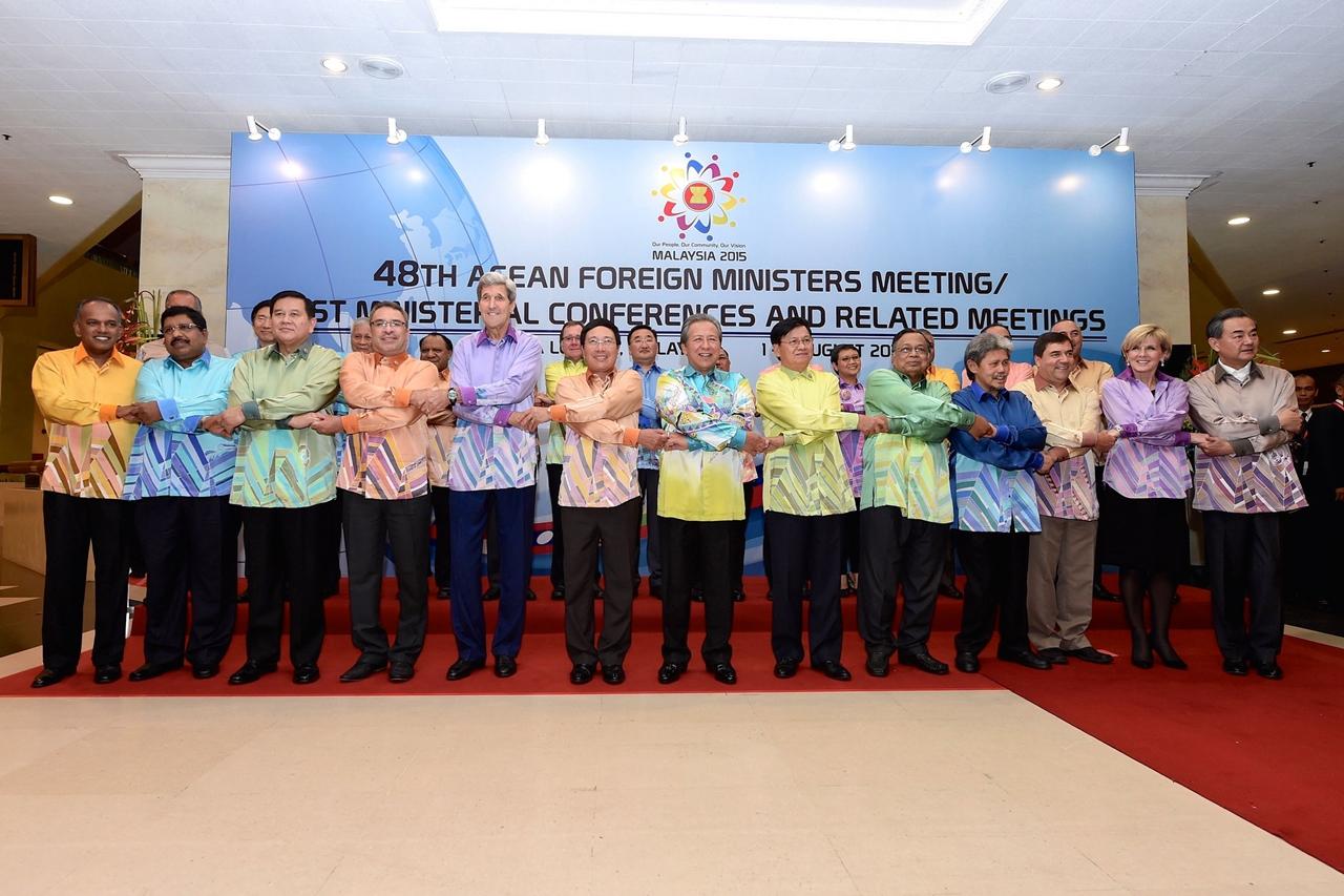 Summitul miniștrilor de externe ASEAN din 2015