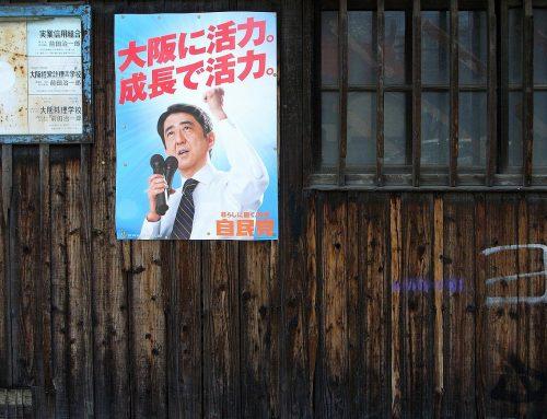 Shinzō Abe reales președinte al LDP pentru un al treilea mandat
