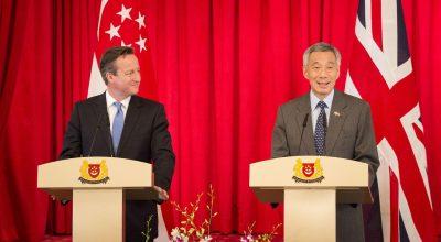 Vizita prim-ministrului David Cameron în Asia de Sud-Est