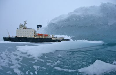Spărgătorul de gheață rusesc Kapitan Dranitsyn
