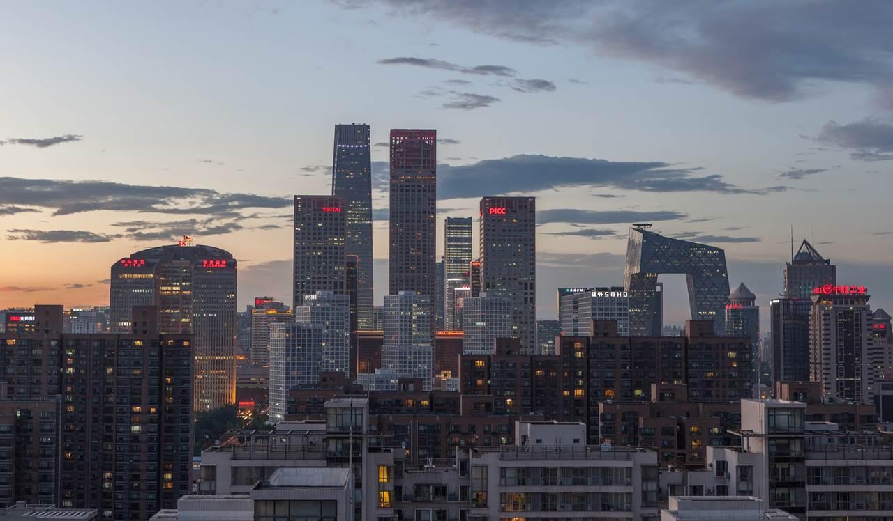 Districtul de afaceri din Beijing
