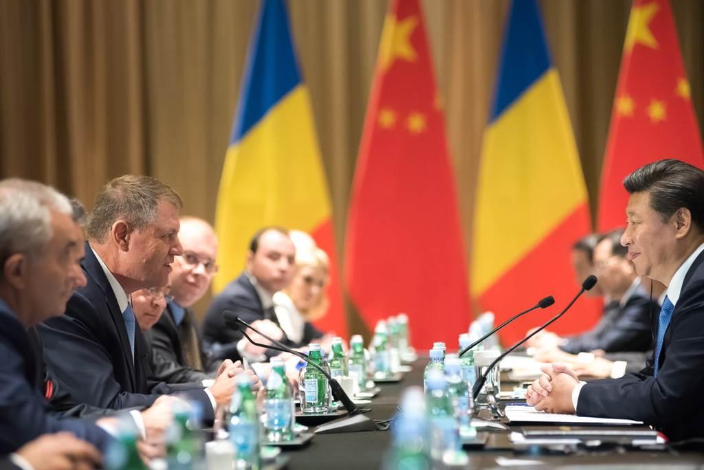 Întâlnirea dintre Klaus Iohannis și Xi Jinping