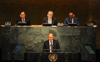 Discursul lui Vladmir Putin la ONU