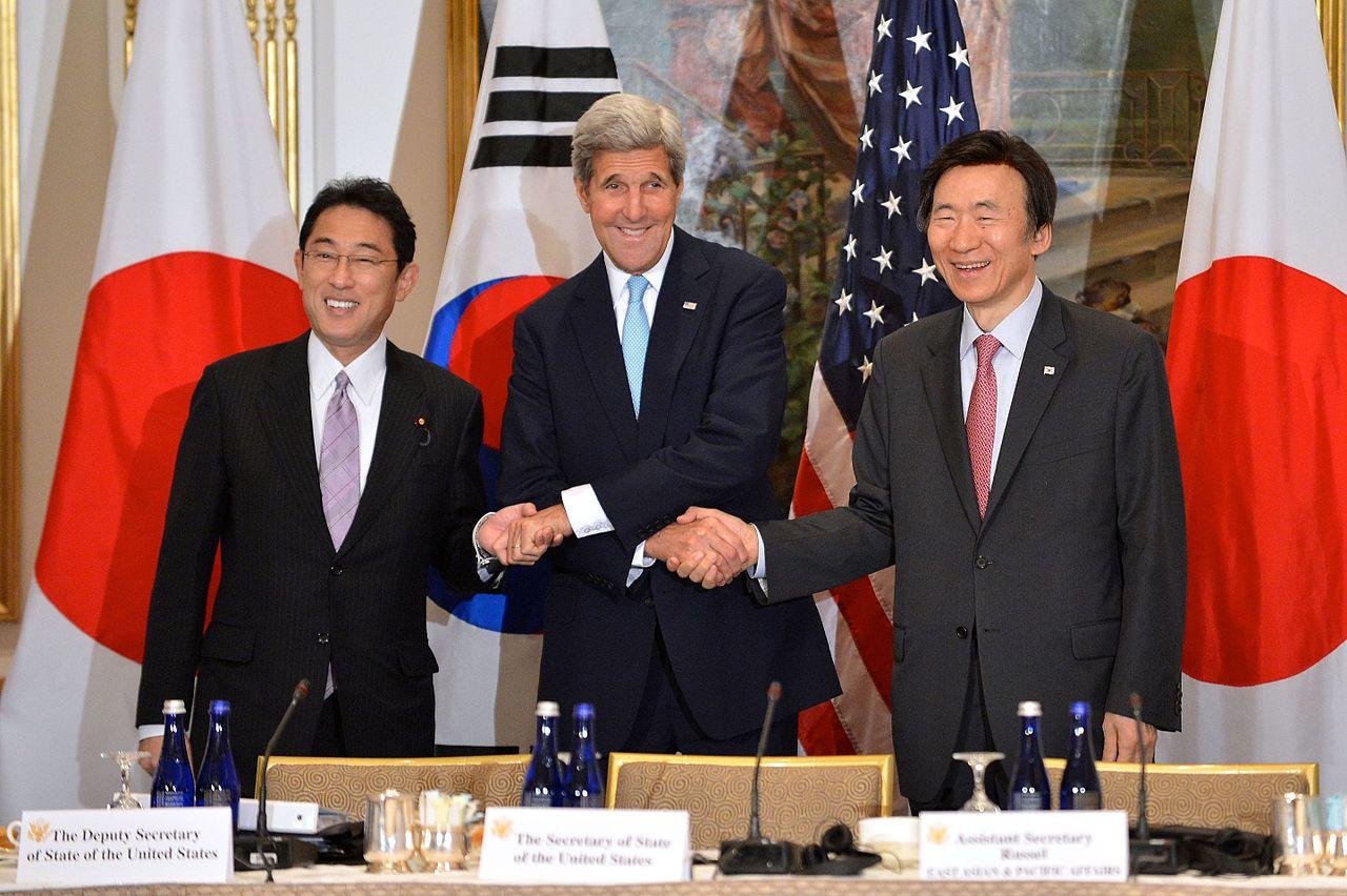 Kerry, Kishida si Yun