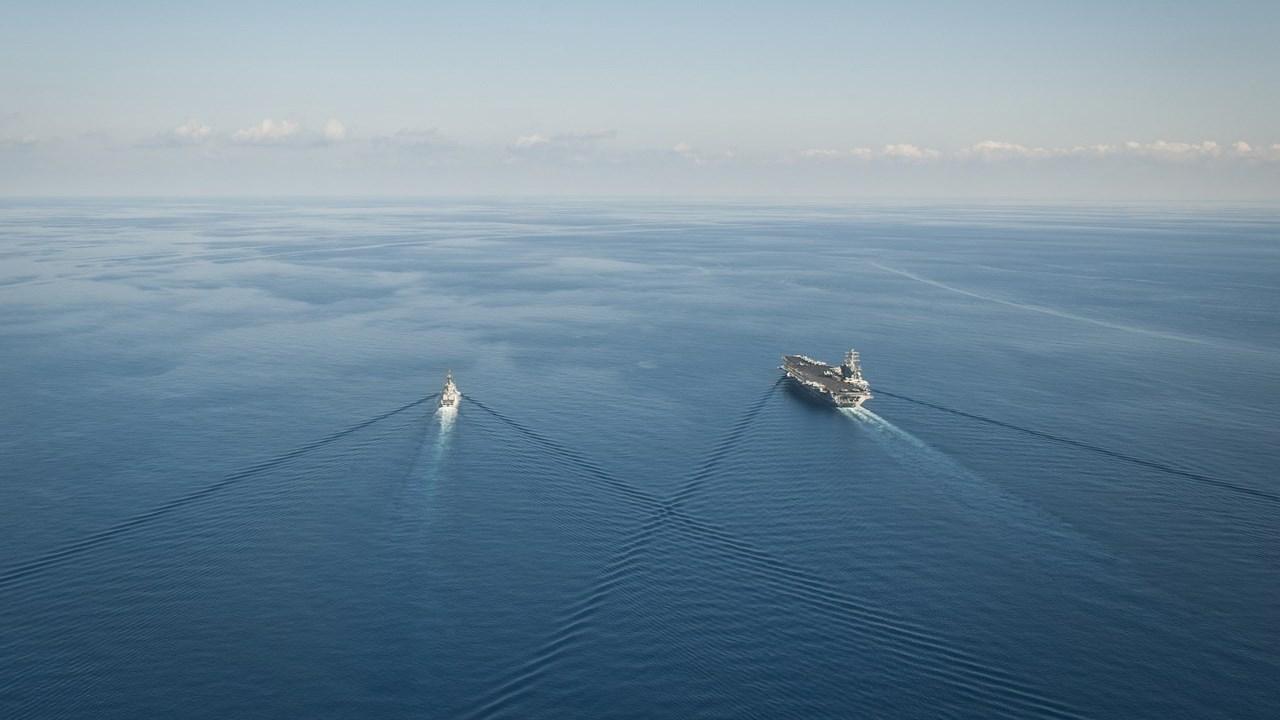 Portavionul american USS Nimitz