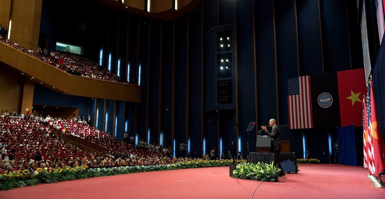 Discursul lui Barack Obama în capitala Vietnamului, Hanoi