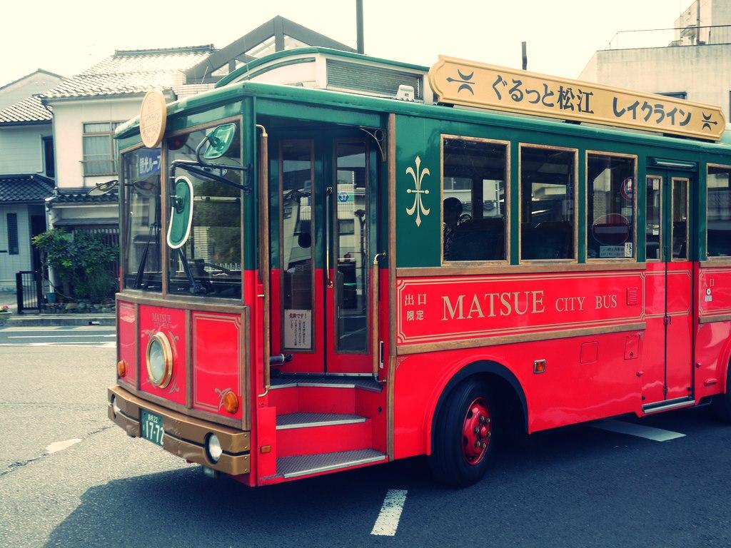 Autobuz turistic din Japonia