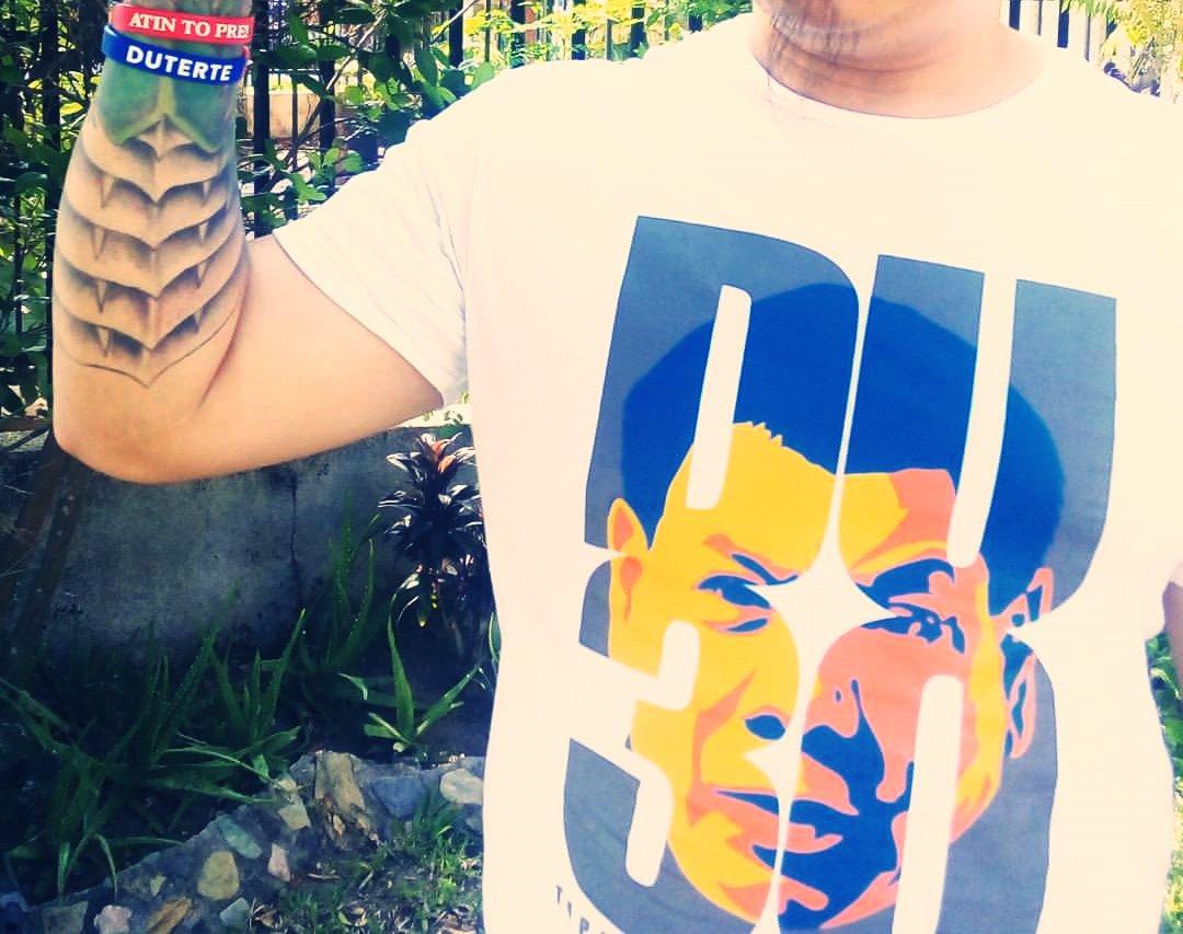 Tricou al campaniei prezidențiale Duterte