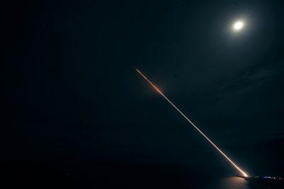 Lansarea unei rachete folosind sistemul THAAD