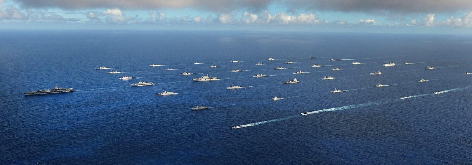 Exercițiile militare navale RIMPAC din 2014