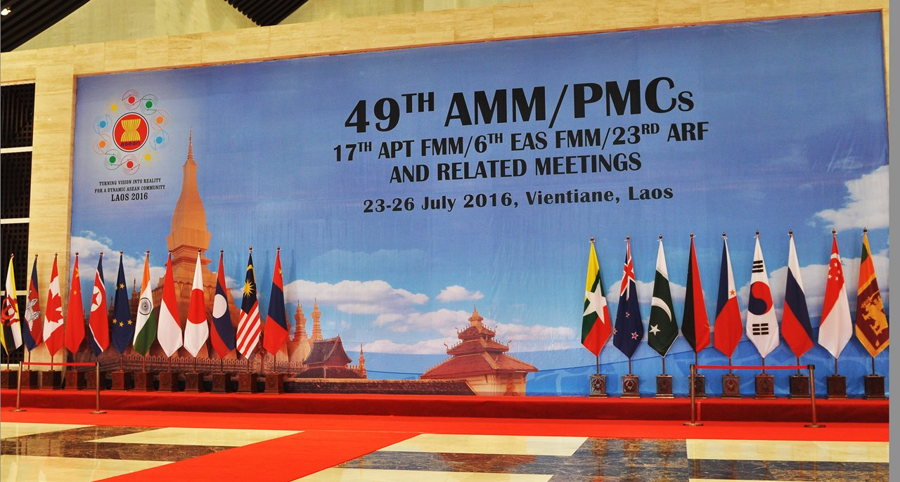 Summit ASEAN, iulie 2016, Laos