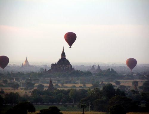 Bagan – ținutul pagodelor din Myanmar