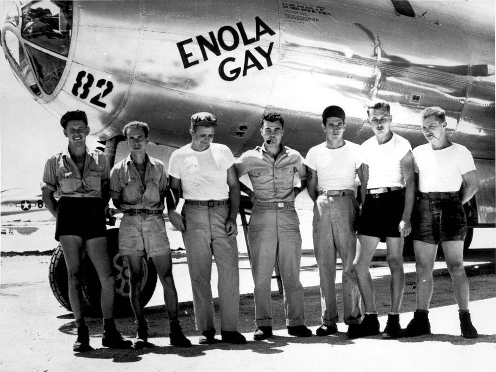 Echipajul bombardierului B-29 Enola Gay