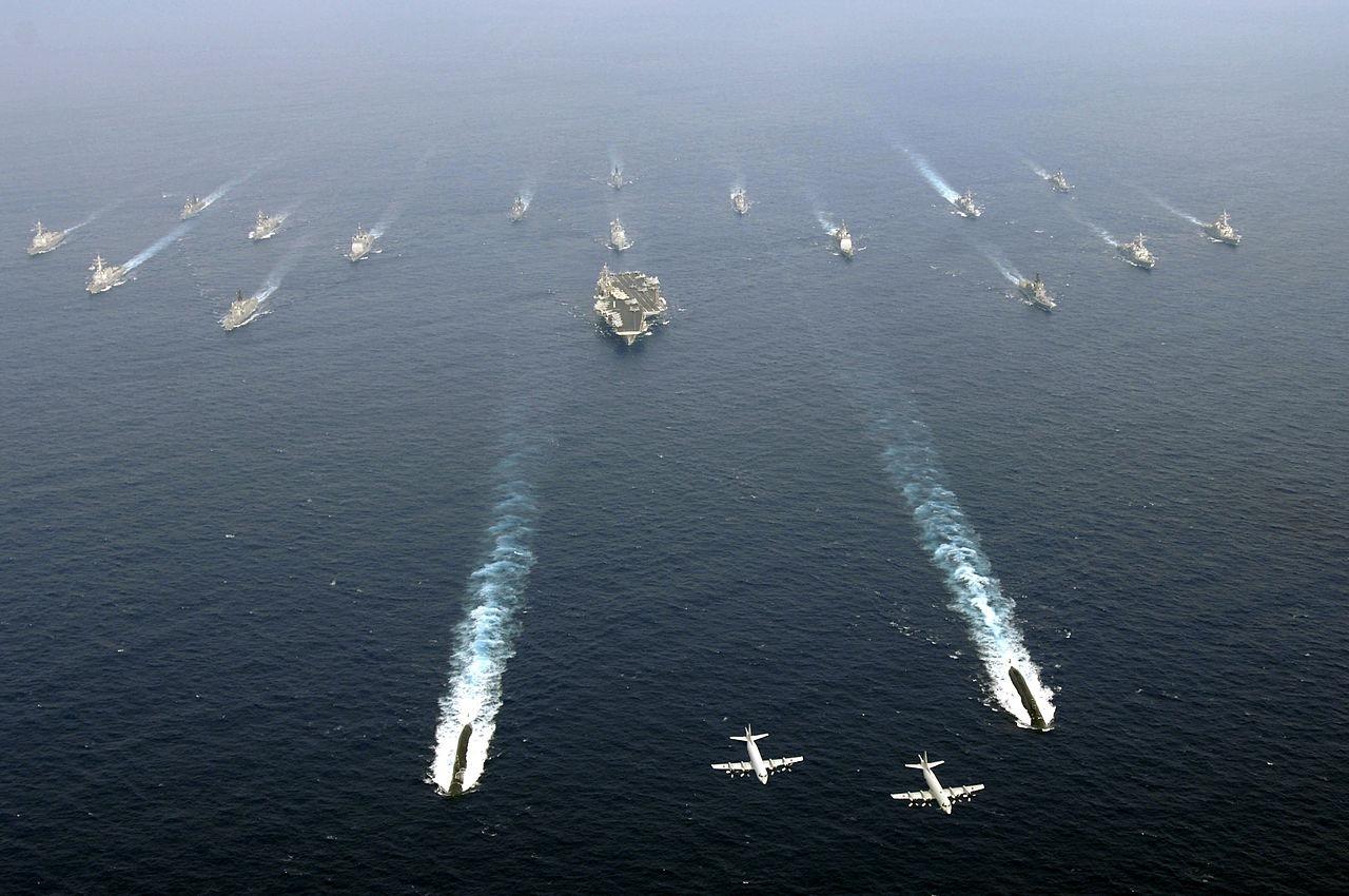 Exercitiu militar naval Japonia-SUA, 2007