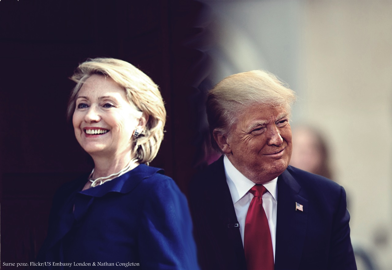 Hillary Clinton și Donald Trump