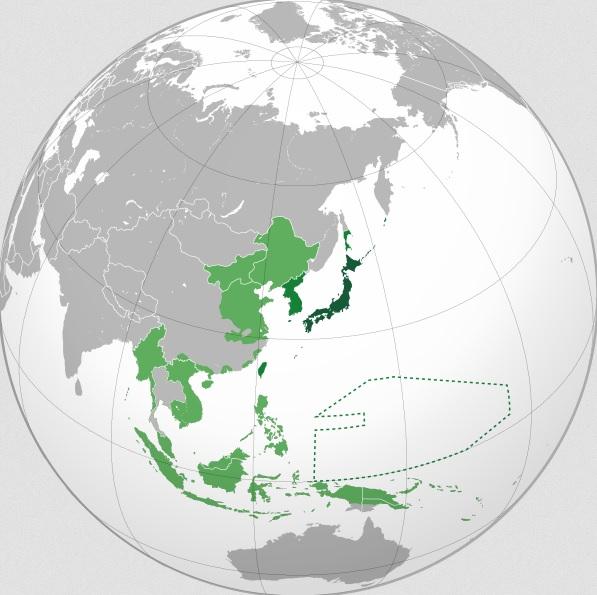 Cuceririle teritoriale ale Imperiului Japonez în regiunea Asia-Pacific, înainte și în timpul celui de-al Doilea Război Mondial
