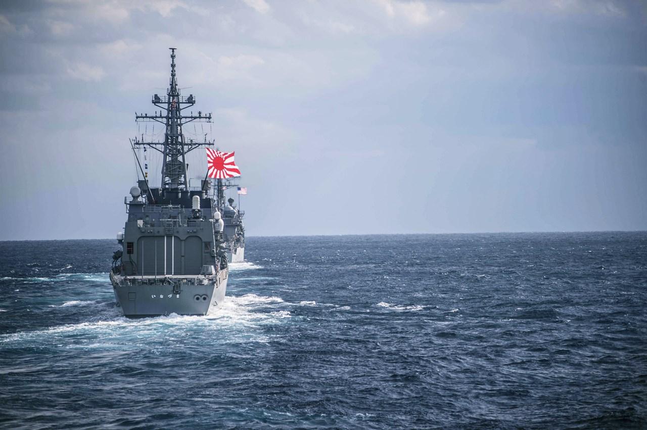 O navă militară a Japoniei