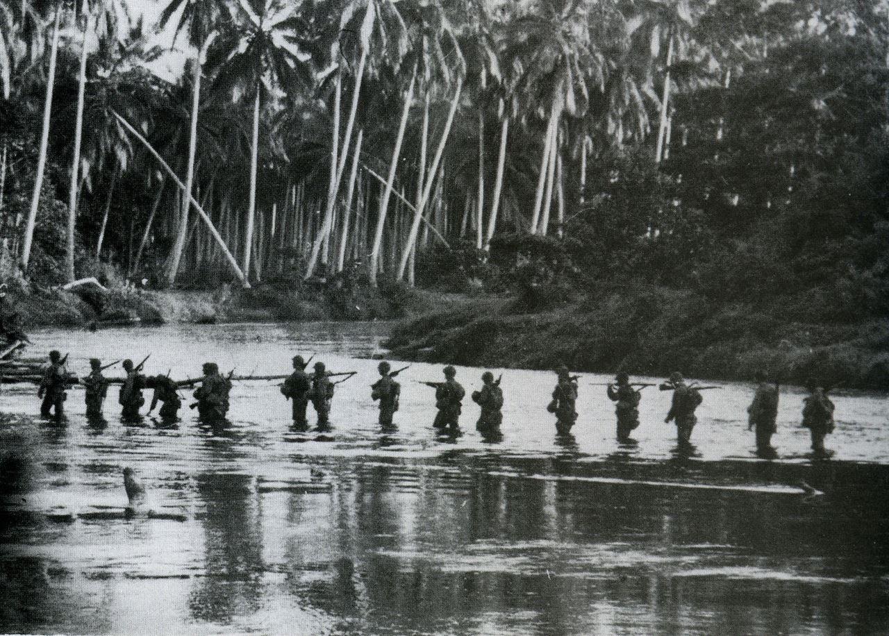 Patrula in Guadalcanal