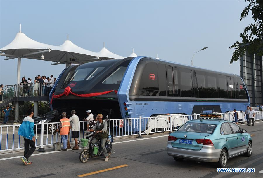 Transit Elevated Bus, Hebei