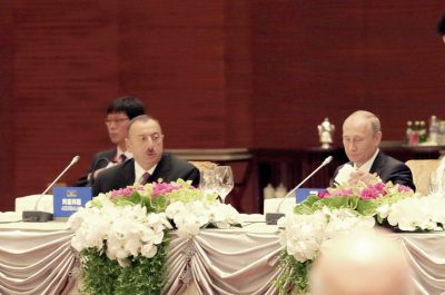 Vladimir Putin si Ilham Aliyev