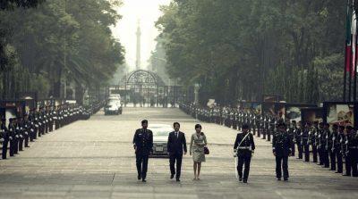 Shinzo Abe, cu soția sa, în Mexic