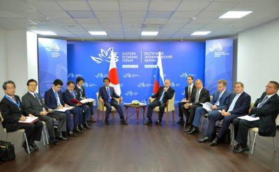 Întâlnire Shinzo Abe și Vladimir Putin