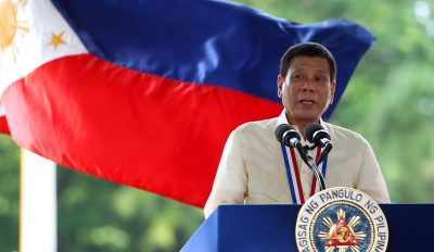 Rodrigo Duterte discurs