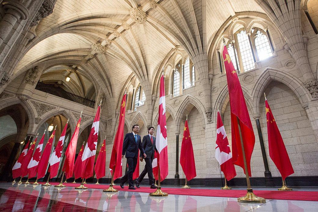 Justin Trudeau și Li Keqiang