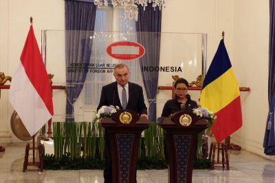 Miniștri de externe ai Romaniei și Indoeneziei