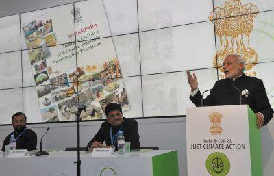 Narendra Modi la COP21