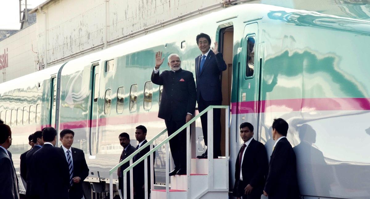Modi și Abe