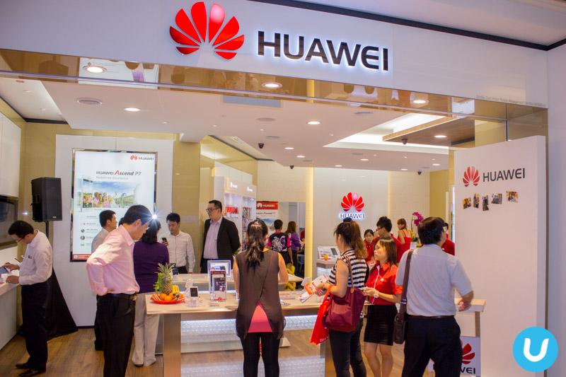 Showroom Huawei în Malaysia