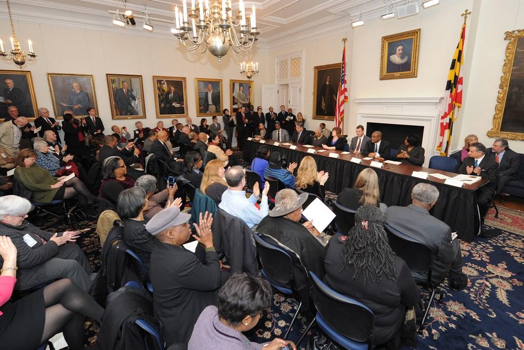 Întâlnire a membrilor Colegiului Electoral din Maryland, în 2012