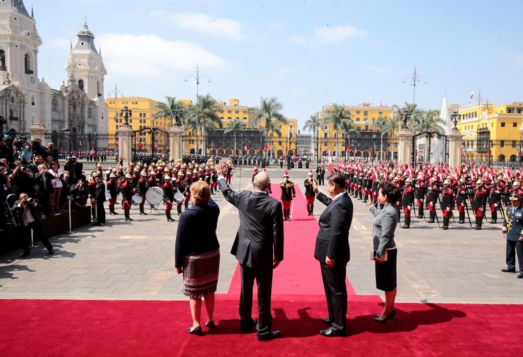 Xi Jinping în Peru