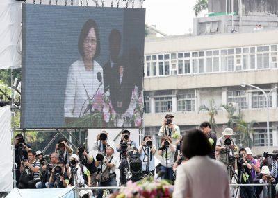 Discursul inaugural al lui Tsai Ing-wen, președinta Taiwanului
