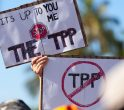 Protest anti-TPP