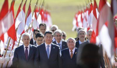 Președintele Chinei, Xi Jinping, în vizita în Brazilia