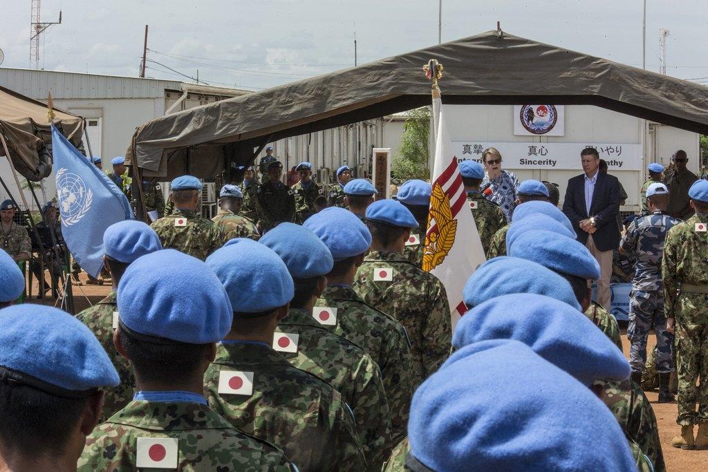 Misiunea japoneză de mentinere a păcii din Sudanul de Sud