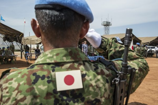 Soldat japonez în Sudanul de Sud