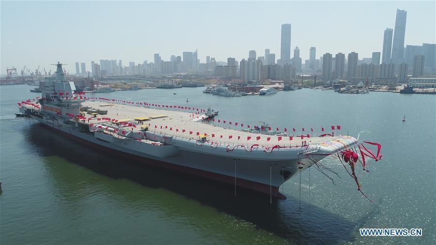 Portavionul 001A al Chinei
