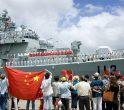 Distrugătorul chinez Qingdao la Pearl Harbour