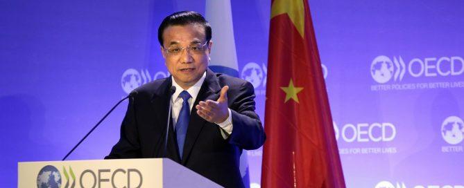 Li Keqiang OCDE