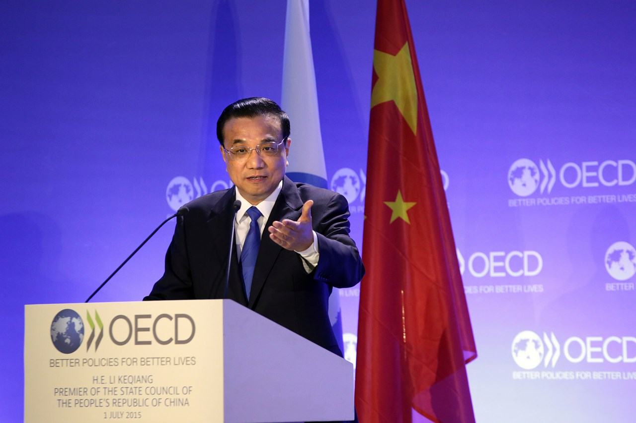Premierul chinez Li Keqiang la OCDE