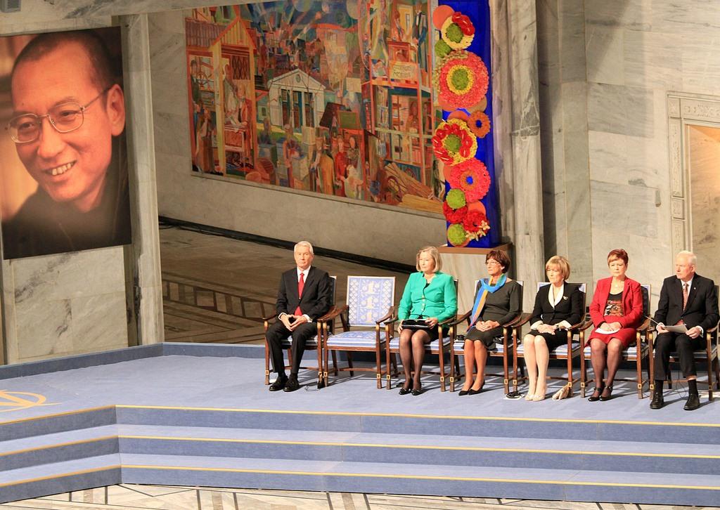 Liu Xiaobo decernare Premiul Nobel