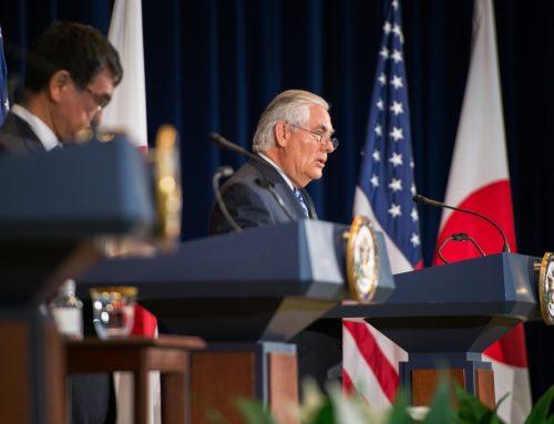 Întâlnire 2+2 între Japonia și SUA