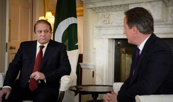 Nawaz Sharif și David Cameron