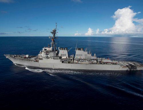Accidentul distrugătorului USS John McCain