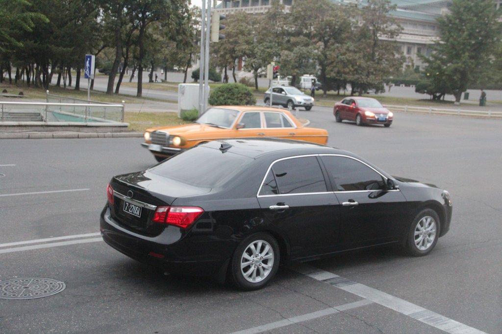 Mașina scumpă în Phenian
